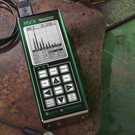 medidor de espessura por ultrassom - mvx - dakota ultrasonics